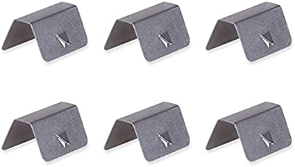 TOOGOO Universal Car Rain Eyebrow Clip In Channel Wind//Rain Deflectors Fitting Clips Replacements,4Pcs