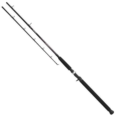 Daiwa ACDLC601HRB Accudepth Trolling Rod, 6' Length, 1Piece Rod, 20-40 lb Line Rate, Heavy Power, Regular Action ()
