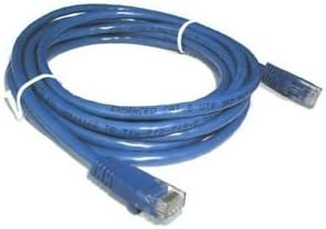 Blue BattleBorn 25 Foot Network Cable Cat5e Ethernet UTP Patch Molded w//Snagless Boot