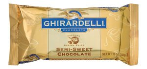 Ghirardelli Semi Sweet Chocolate Chips (1,000 ct), 12 oz bag