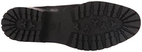 Blackc9999 de para Schwarz D Oxford Geox Peaceful Mujer Cordones H Zapatos IvPfFwq7