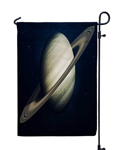 Shorping Welcome Garden Flag, 12x18Inch Saturn Planets The Solar System in Science Elements Furnished by NASA for Holiday and Seasonal Double-Sided Printing Yards Flags]()