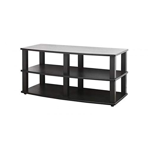 - PLATEAU XT-V3 44 BB Wood veneer and Metal TV Stand, 44-Inch, Black Oak Finish