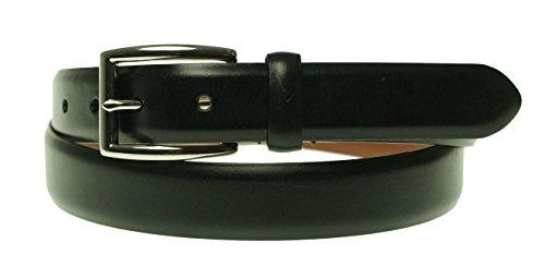[Polo Ralph Lauren Italian Calfskin Belt, Black (40)] (Calfskin Belt)