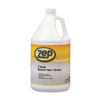 Zep Professional R03424 Z Tread Neutral Floor Cleaner, Fresh/Clean  Fragrance, Clear/Green