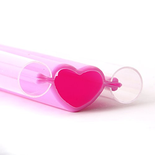 Large Heart Embed Silicone Mould x 10 by World Of Moulds