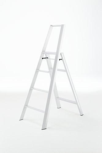 Hasegawa Ladders ML2.0-4WH Lucano Step, White