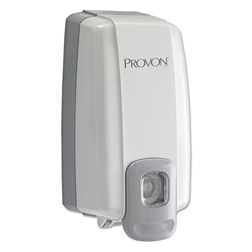 PROVON NXT SPACE SAVER Push-Style Dispenser, Dove Grey, Dispenser for PROVON NXT 1000 mL Lotion/Shower Soap and Lotion Refills - 2115-06 (Provon Gentle Lotion Soap)