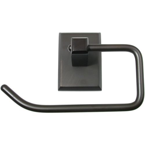 - Rusticware 8707 Utica Euro Style Toilet Paper Holder, Oil Rubbed Bronze