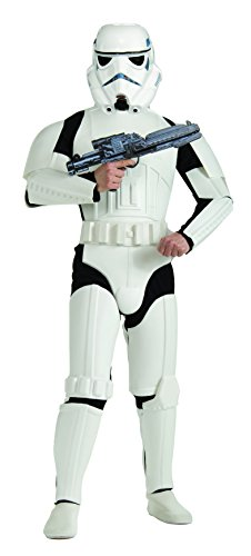 Price comparison product image Rubie's Costume Star Wars Deluxe Stormtrooper, White, One Size Costume