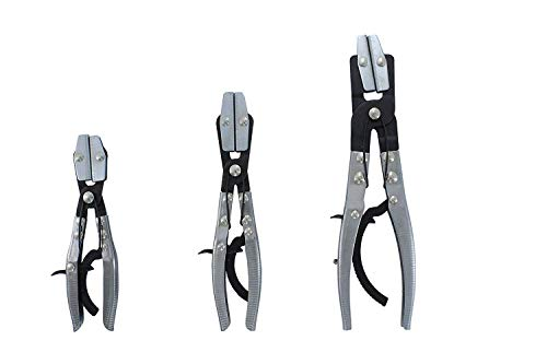 Steel Flexible Hose Clamps 3 Pcs. Line Clamp Hose Pinch Off Pliers Set Mixed Sizes,Jikkolumlukka from Jikkolumlukka