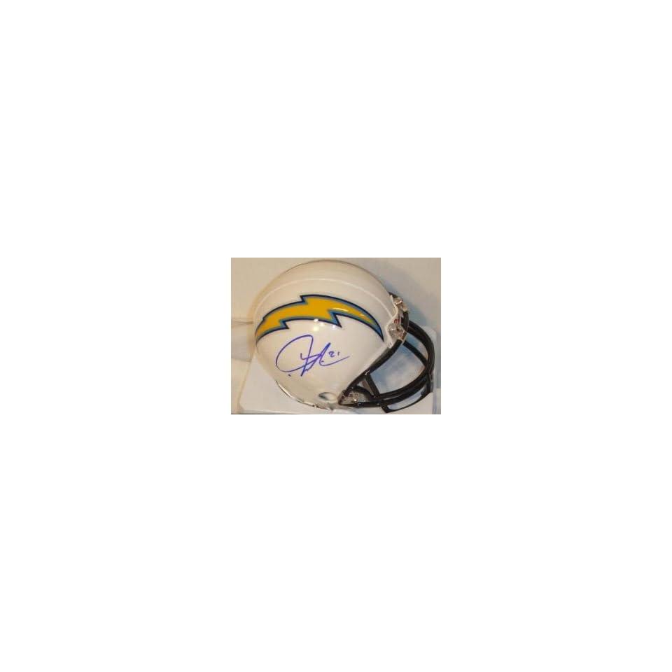 LaDainian Tomlinson Signed San Diego Chargers Replica Mini Helmet