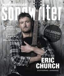 American Songwriter Magazine (September/October, 2018) Eric Church Cover (Music Songwriter Magazine)