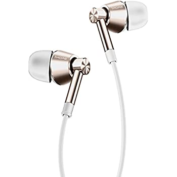 1MORE Dual Driver In-Ear Headphones (Earphones/Earbuds/Headset) with Apple iOS and Android Compatible Microphone and Remote