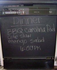 Instant Chalkboard Appliance Mag...