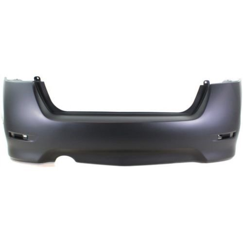 Go-Parts OE Replacement for 2013-2015 Nissan Sentra Rear Bumper Cover 85022-3RM0J NI1100291 For Nissan Sentra