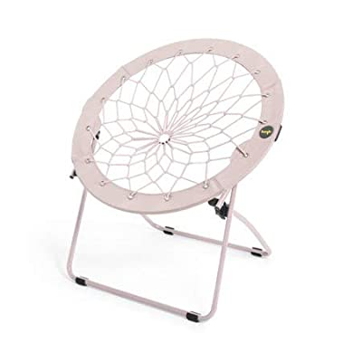 "Bunjo 32\"" Bungee Chair, Light Pink: Kitchen & Dining [5Bkhe0302934]"