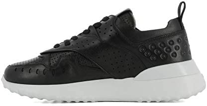Tod's Luxury Fashion Damen XXW80A0W590JUSB999 Schwarz Leder Sneakers | Jahreszeit Permanent  KGkmc
