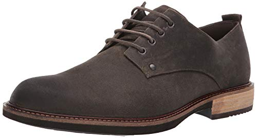 ECCO Men's Kenton Plain Toe Tie Oxford, Tarmac Artisan 43 M EU (9-9.5 US) (Tie Oxford Toe)