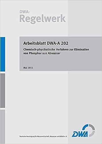 Arbeitsblatt DWA-A 202 Chemisch-physikalische Verfahren zur ...