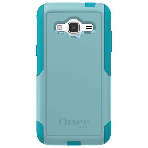 OtterBox Commuter Series Case for Samsung Galaxy J3 2016 Only (Not for 2017 Model)/J3 V - Aqua Sky (Aqua Blue/Light Teal) (Certified Refurbished)
