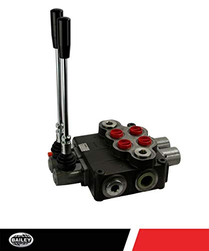 CHIEF P120 Directional Control Valve(G Series): 30 GPM, 3625 PSI, 2 Spool 4 Way 3 Position and 3-pos. Spring Center Action, SAE 12/16 Inlet/Outlet Ports and SAE 12 Work Ports, 220930 ()