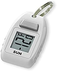 Sun Company Digital Zipogage - Compact Zipperpull Digital Thermometer | for Skiing, Snowboarding, Cold-Weather