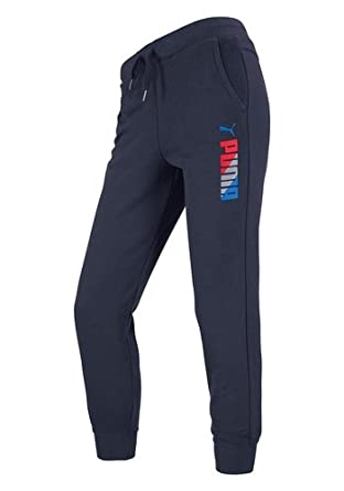 puma jogginghose blau