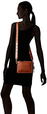 Fossil Campbell Crossbody Brown