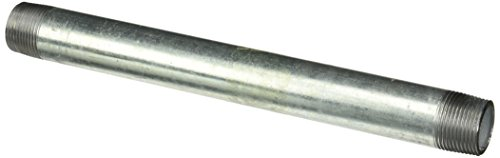 LDR 303 1X12 Galvanized Pipe Nipple, 1-Inch X 12-Inch - 1 Inch Pipe