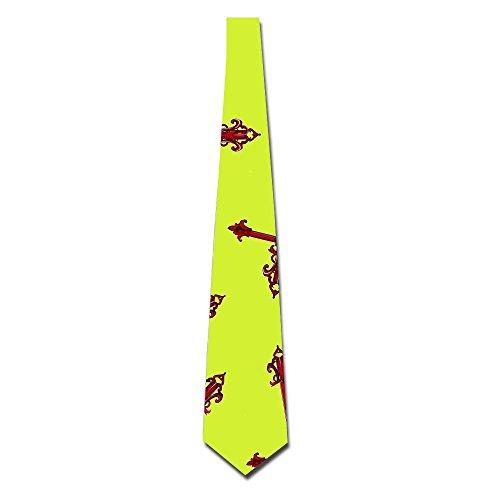 Christian-Cross-Hip-Hop Men Classic Printed Tie Neckties Slim Skinny Tie by NECKTIES YUTU
