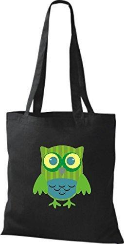 Fabric Cotton Women For Bag Black Shirtinstyle Black wR846qxHz