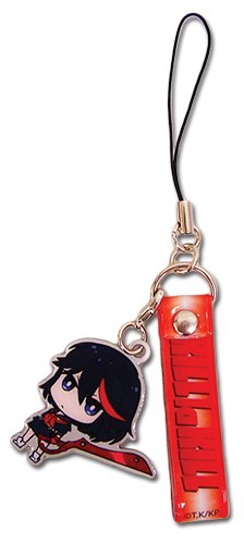 Kill La Kill Ryuko Strap With Ryuko Cell Charm