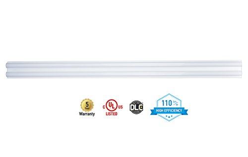 ASD LED Strip Shop Light 4FT 40W Dimmable 4000K (Bright White) 4200lm UL Listed DLC Certified
