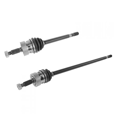 Front Outer CV Joint Axle Drive Shaft Pair Set for 93-98 Grand Cherokee 4WD ()