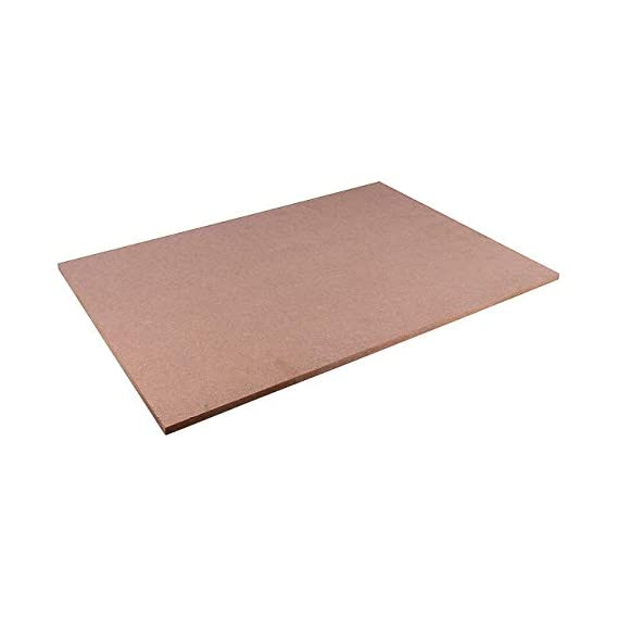 AKSHARAM MDF Thick Strong 8 MM Board Sheet (24 inch x 16 inch)- Pack of 1
