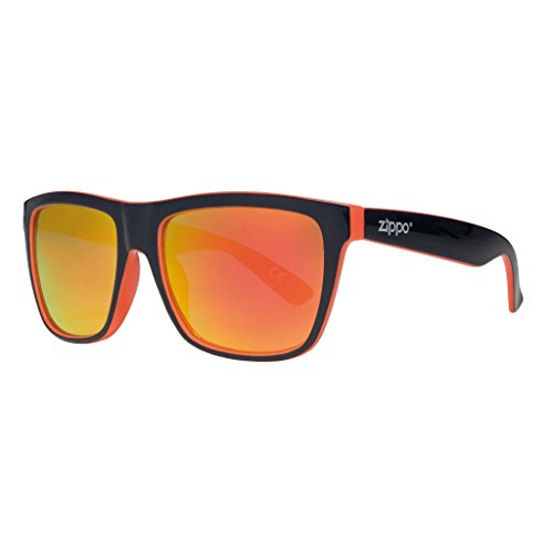 (Zippo Orange Oversized Sunglasses )