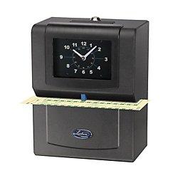 Lathem Time 4001 Automatic Model Heavy-Duty Time Recorder, Gray