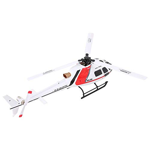 RC Helicopter with Remote Control, Gyro and LED Light 6 Channel Mini Helicopters Micro 1106 11000KV Brushless Motor Electric RC Helicopter Vehicle Toy for Kids & Adult Indoor and Outdoor