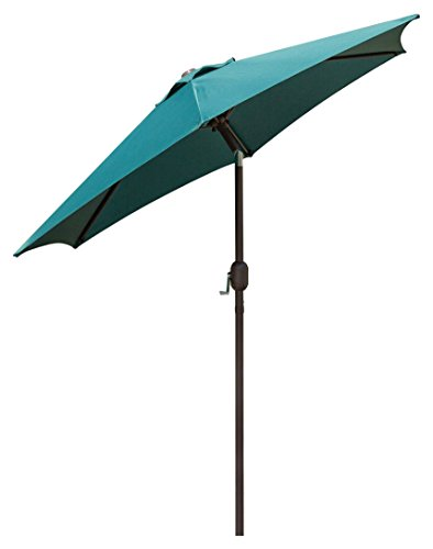 Series Offset Patio Umbrella (hollyland HM-JCU-1005-75-DG UV Protective Umbrella)
