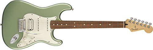 Fender Player Stratocaster HSS Electric Guitar - Pau Ferro Fingerboard - Sage Green Metallic