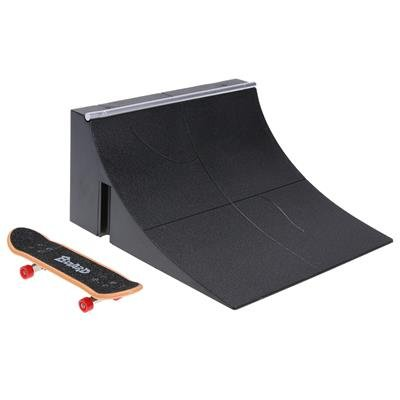 GreenSun TM Mini Table Game Finger Skating Board with Ramp Parts Track for Deck Fingerboard Toy Main SiteTrack Finger Skate Training (Mini Ramp Skating)