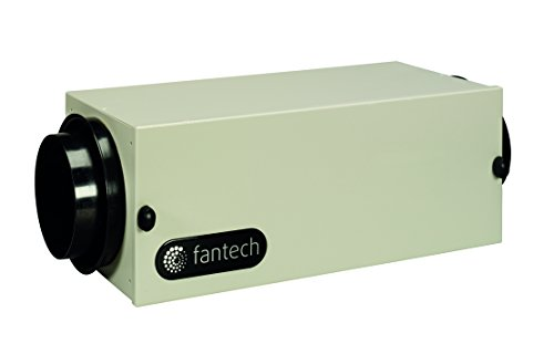 - Fantech FB 6 in-Line Filter Box with MERV, 13 Filter, 6