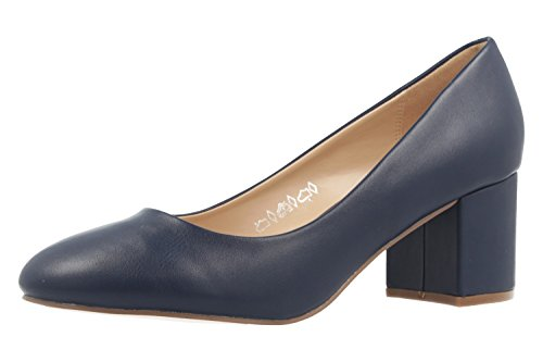 Fitters Footwear Sesy - Mujer Tacones - Zapatos Azules EN Tallas Especiales