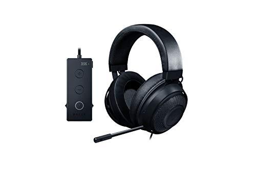 Razer Kraken Tournament Edition Auriculares Gaming, con Cable, Control de Audio y THX Spatial Audio, Alámbrico, Negro