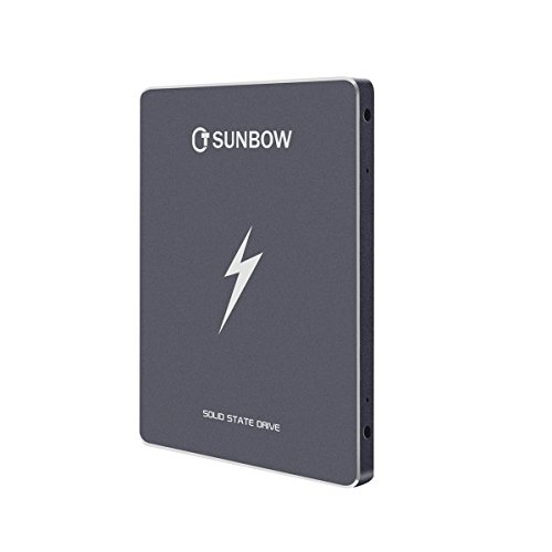TCsunBow 120gb 128gb 2.5'' SATA3 external Solid State Drive SSD for PC Laptop Desktop POS Game Advertising Machine (X5 120GB) by TCSunBow