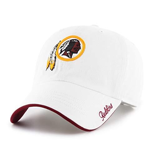 - OTS NFL Washington Redskins Female Accolade Challenger Adjustable Hat, White, Women's