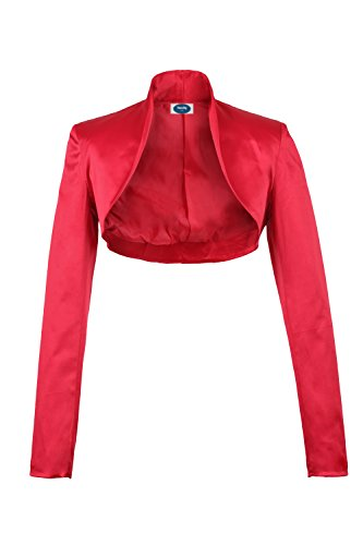 Red 4tuality Ao Satin Party Bolero qwwPFBx