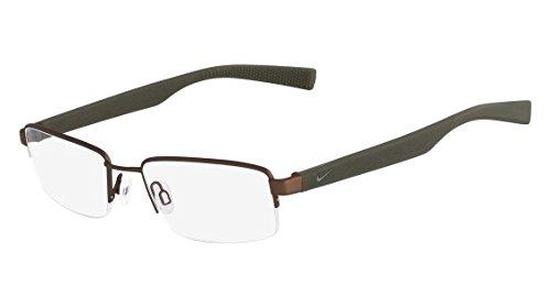 Eyeglasses NIKE 4260 240 SATIN WALNUT/CARGO KHAKI by NIKE