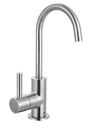 Franke Steel Little Butler Single Handle Under Sink Hot Water Filtration Faucet